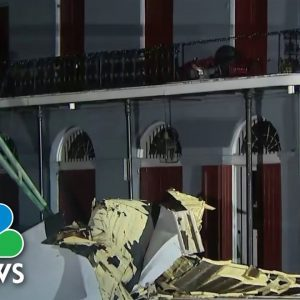 Over One Million People Without Power In New Orleans After Hurricane Ida