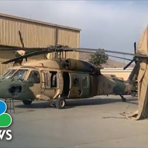 NBC News Finds Abandoned, Inoperable U.S. Military Equipment At Kabul Airport