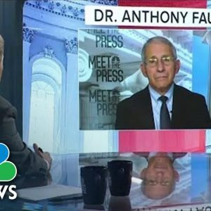 Full Fauci Interview: 'I'm Certain' Of Need For Third Vaccine Dose