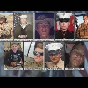 Mourning Service Members Lost In The Kabul Airport Attack