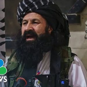 Taliban's Self-Proclaimed Head Of Security Wanted By U.S. As A Terrorist