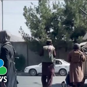 U.S. Working With Taliban To Continue Evacuations Following Attack