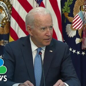 'Vaccine Requirements Work': Biden Meets With Business Leaders on Covid Response