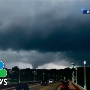 Ida Unleashes Tornadoes, Flooding in Maryland As Storm Hammers East Coast