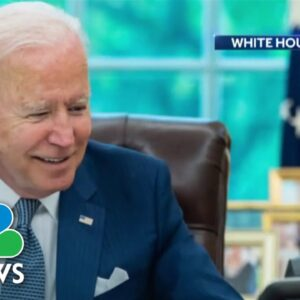 Biden And Macron Speak In First Call Since Dispute Over Submarine Deal