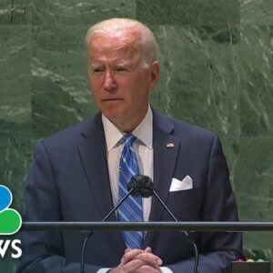 Biden Urges Countries To 'Choose To Fight For Our Shared Future'