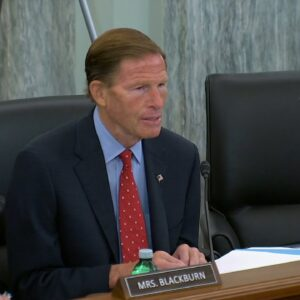 Blumenthal Questions Facebook Exec: 'Will You Commit To Ending Finsta?'