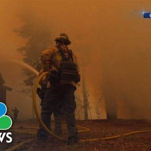 Caldor Fire forces mass evacuations in Lake Tahoe