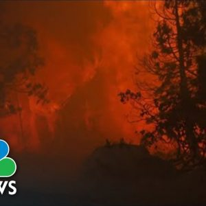 Crews Brace For Caldor Fire Flames A Few Miles From South Lake Tahoe