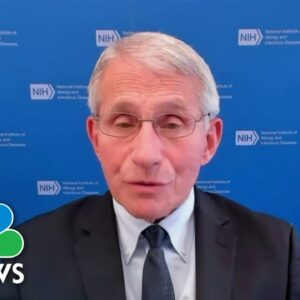 Dr. Fauci On Booster Shot Confusion