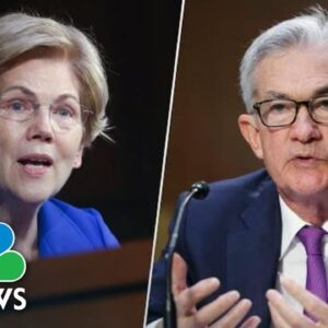 Warren Calls Fed Chair Powell 'A Dangerous Man,' Will Oppose His Renomination