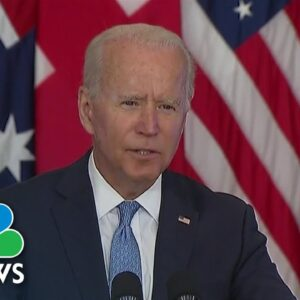 Biden Announces Defense Pact with Australia and U.K. In Effort To Push Back On China