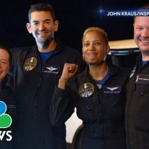 Extended Interview: All-Civilian Inspiration4 Crew On Historic Mission