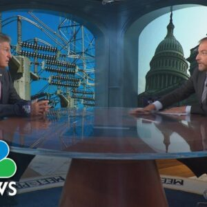Full Manchin: 'We Don't Have An Urgency' On $3.5 Trillion Spending