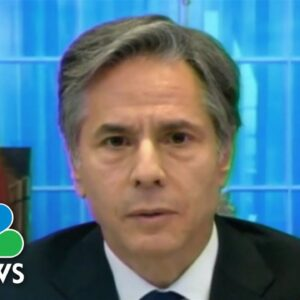 Blinken: US Will Continue To Provide Humanitarian Assistance To Afghanistan