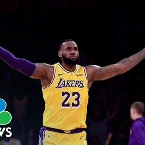 LeBron James Says He Received Covid Vaccine Amid NBA Controversy