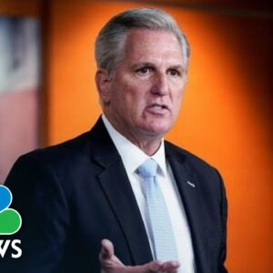 Live: McCarthy Holds Press Conference | NBC News