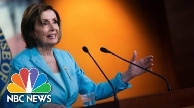 Live: Nancy Pelosi Holds Weekly Press Conference   NBC News