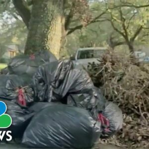 New Orleans Faces Waste Collection Crisis As Trash Piles Up For Weeks