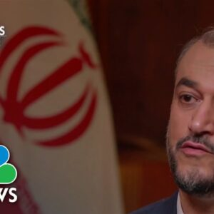 One-On-One With Iran's New Foreign Minister