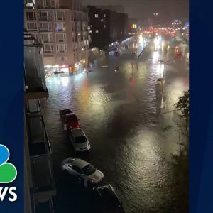 See Footage Of New York City's Flash Flood Emergency