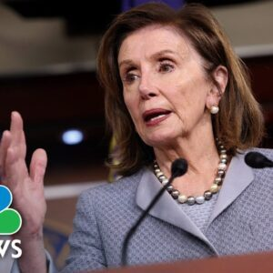 Pelosi: Legislation To Limit Presidential Powers Will Protect 'Against Future Abuse'