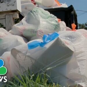 Trash Piles Up In New Orleans As Post-Ida Pickups Fall Behind