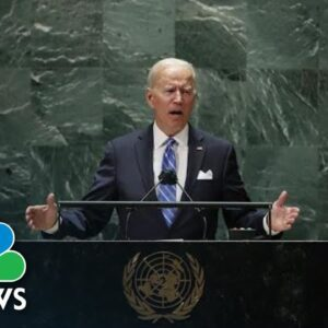 Watch: Biden Delivers Full Remarks To U.N General Assembly