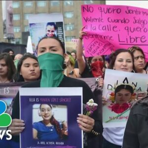 10 Women And Girls Are Killed Every Day In Mexico New Report Shows