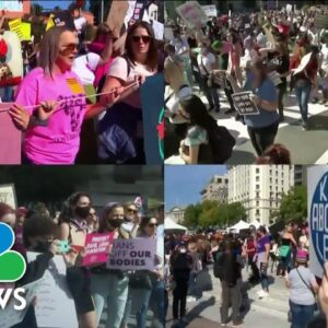 As Thousands March, Women's Reproductive Rights Divide The Nation