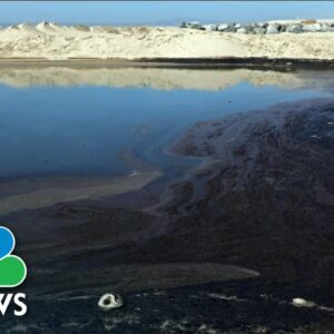 Authorities Work To Slow Major California Oil Spill