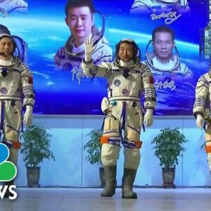 China's Historic Mission To New Space Station