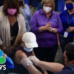 Puerto Rico Shows High Vaccination Rate After Months Of Strict Covid Guidelines