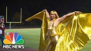 Vermont High School Students, Faculty Dress In Drag For Homecoming Football Game