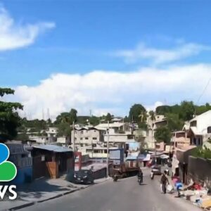 Migrants Sent Back To Haiti Face Dire Conditions