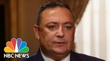 NBC News Exclusive: Former Miami Police Chief Art Acevedo Speaks Out