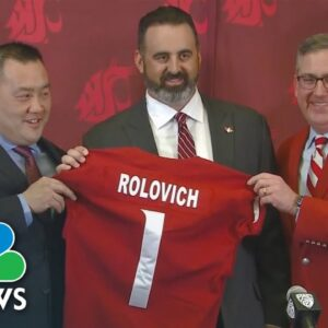Washington State University Football Coach Fired For Refusing Covid-19 Vaccine