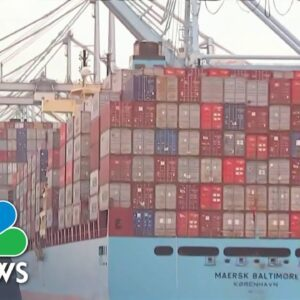 Record Ship Traffic Causes Delayed Delivery Of Consumer Goods