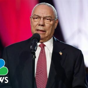 Remembering Former Secretary Of State Colin Powell