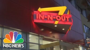San Francisco In-N-Out Shut Down For Violating Covid-19 Health Order