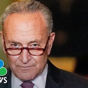 Schumer Calls For Debt Limit To Be Addressed By The End Of The Week