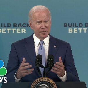 Biden Discusses September Jobs Report Numbers: 'We're Continuing To Make Progress'