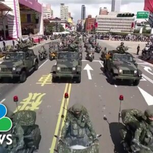 Tensions Mount Between China and Taiwan